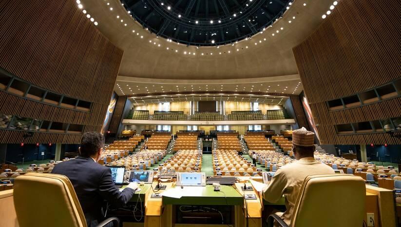 Tviter, UN_PGA: Savet bezbednosti UN