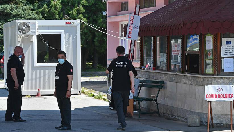 KBC Bežanijska kosa pretvoren je u kovid bolnicu, koronavirus Foto: Srđan Ilić