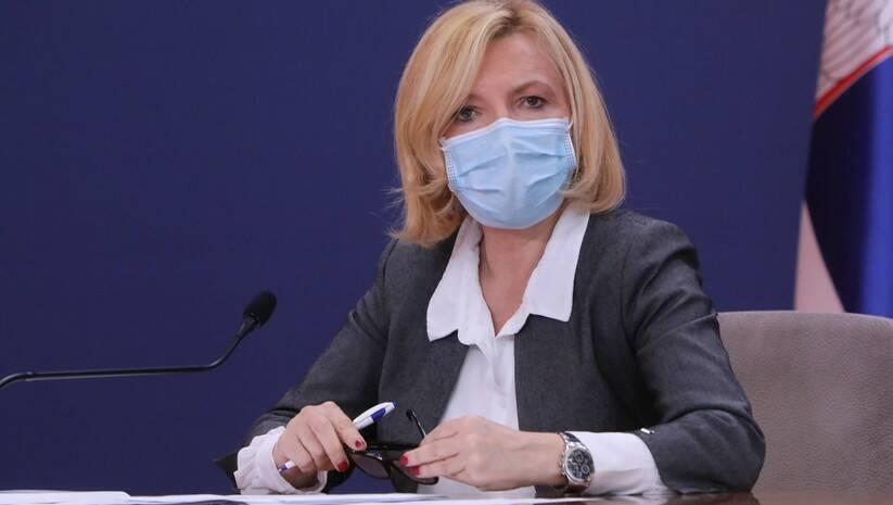 Direktorka Instituta za javno zdravlje Srbije dr Milan Jovanović Batut Verica Jovanović / Foto: BETAPHOTO/VLADA SRBIJE/SLOBODAN MILJEVIC
