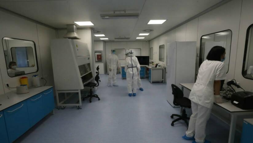Laboratorija Vatreno oko u Nišu, koronavirus Foto: Vlada Srbije