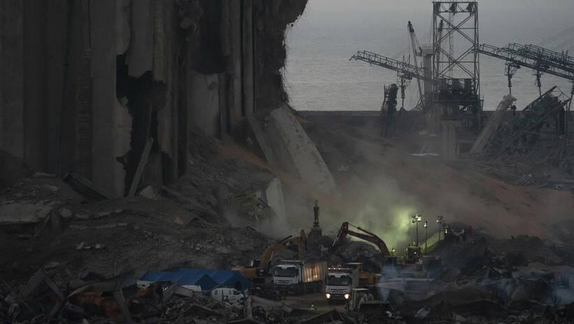 Posledice eksplozije u Bejrutu / Foto: AP Photo/Felipe Dana