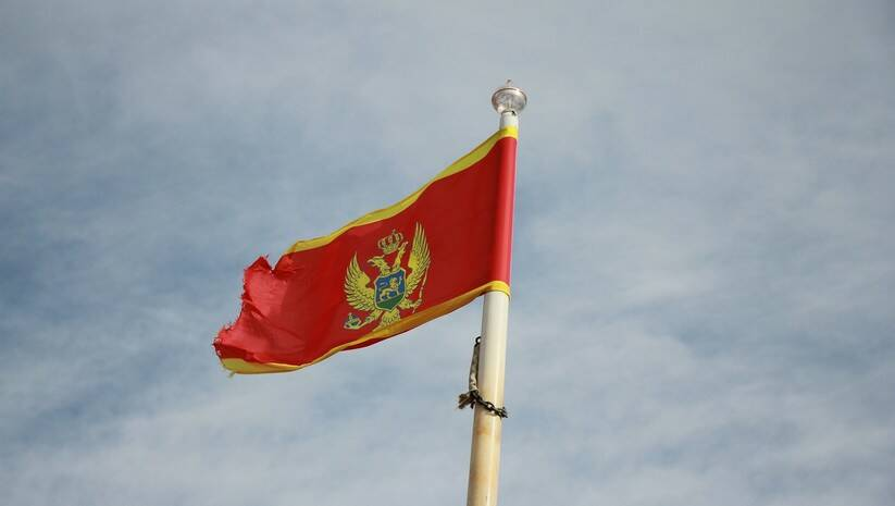 Crna Gora, zastava / Foto: Pixabay