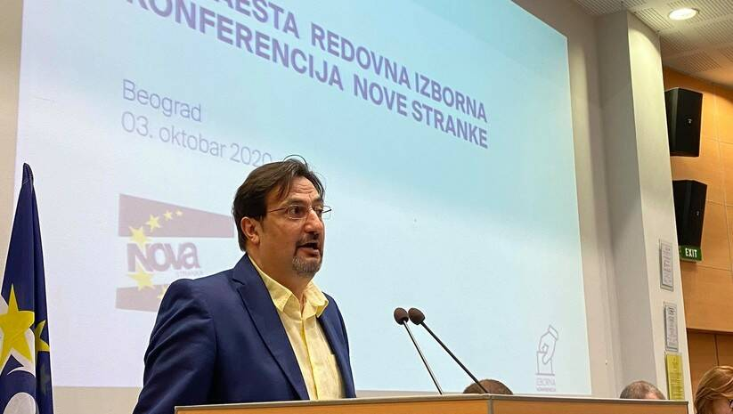Aris Movsesijan Foto: Nova stranka