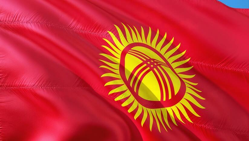 Zastava Kirgistana, Foto: Pixabay