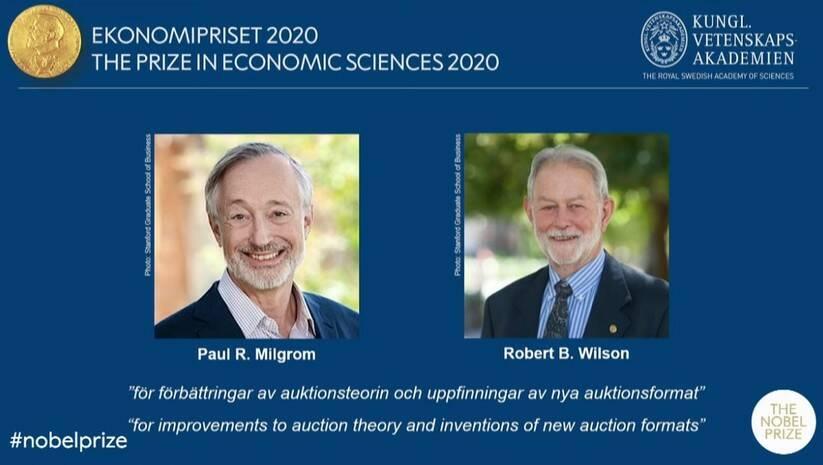 Nobelova nagrada za ekonomiju, Foto: printscreen