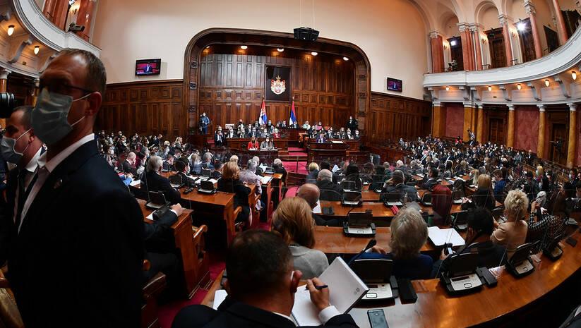 Skupština Srbije, 2020 / Foto: Srđan Ilić