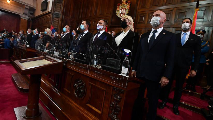 Polaganje zakletve članova Vlade Foto: Srđan Ilić