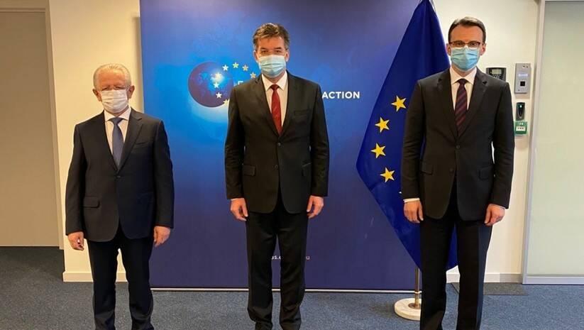 Lajčak, Hiseni i Petković u novoj rundi razgovora / Foto: Twitter @MiroslavLajcak
