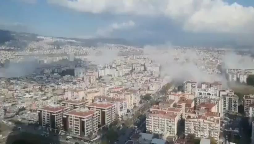 Zemljotres u Izmiru, Foto: Print Screen Twitter