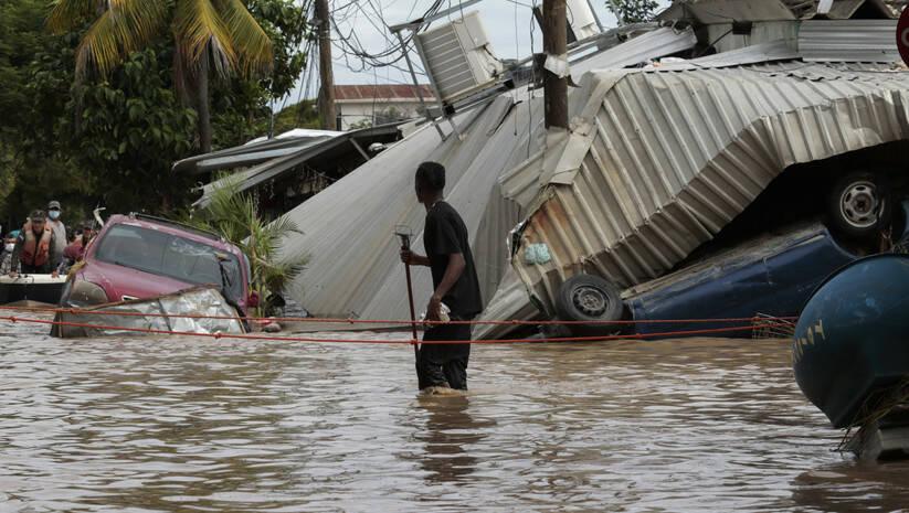 razaranje uragana Eta u Hondurasu, 6. novembar 2020, Foto: AP Photo/Delmer Martinez