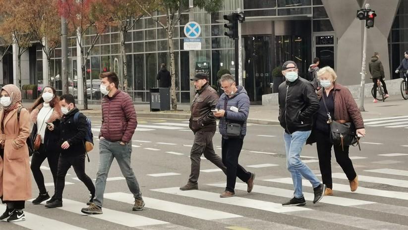 koronavirus na ulicama Beograda, novembar 2020, Foto: Insajder