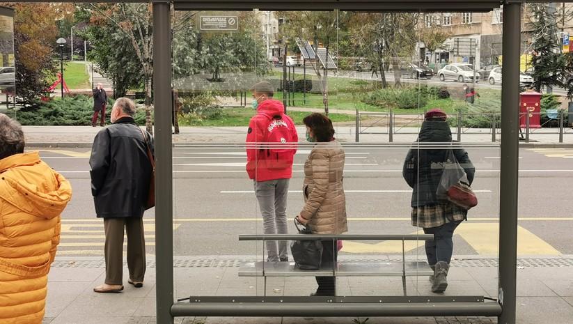 Beogradske ulice tokom pandemije koronavirusa Foto: Insajder