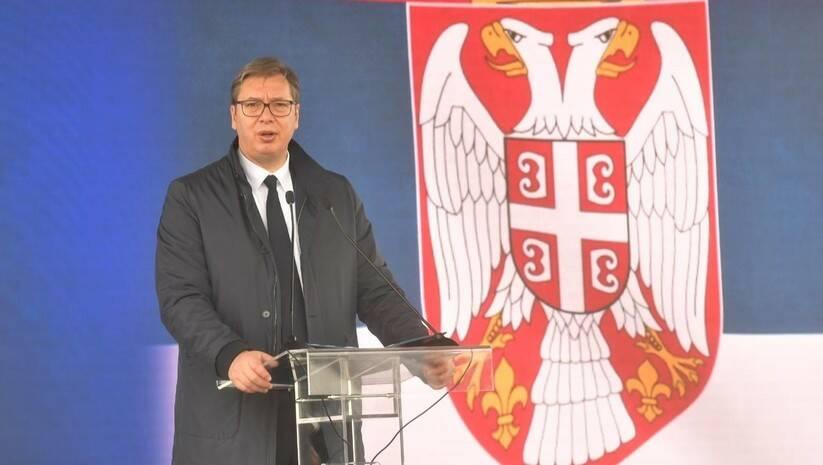 Aleksandar Vučić u Batajnici Foto: Facebook Aleksandar Vučić