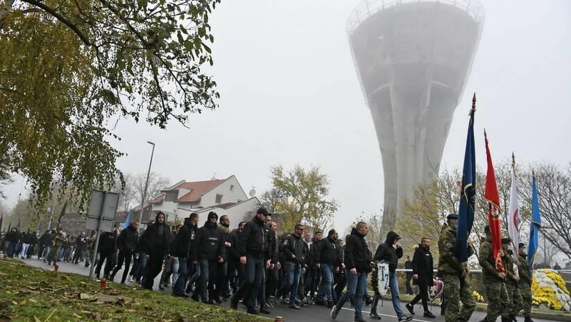 Više hiljada građana učestvovalo je danas u Vukovaru u obeležavanju 29. godišnjice stradanja tog hrvatskog grada  Foto: BETAPHOTO/HINA