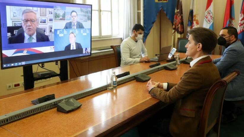 SLOBODAN MILJEVIC/ Vlada Srbije: Ana Brnabić na Beogradskom ekonomskom forumu
