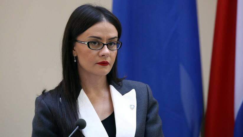 Ministarka spoljnih poslova i dijaspore Kosova Meljiza Haradinaj-Stubla, Foto: Betaphoto/Hina/Dario Grzelj