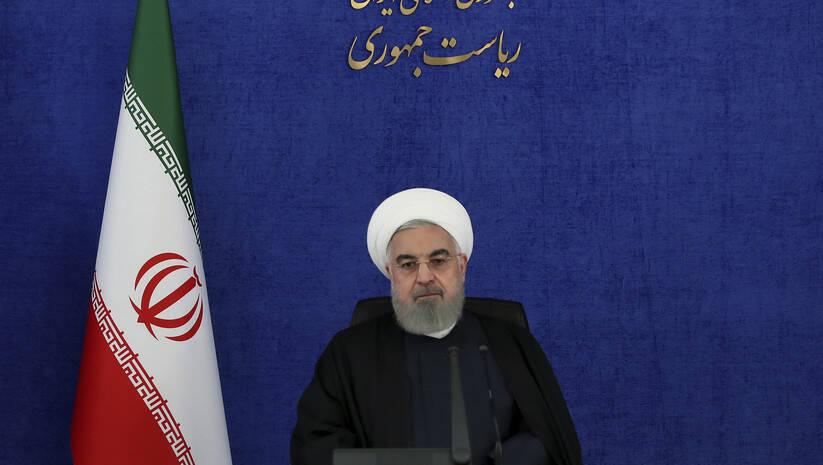 Hasan Rohani Foto: Iranian Presidency Office via AP/Betaphoto