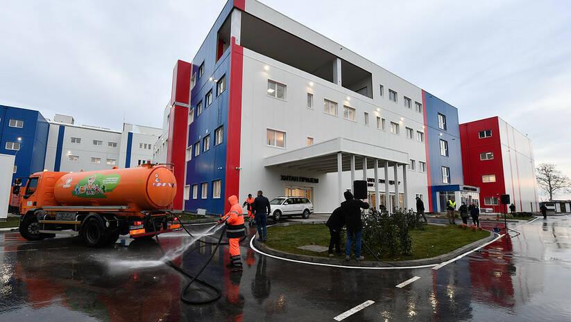 Kovid bolnica u Batajnici Foto: Srđan Ilić