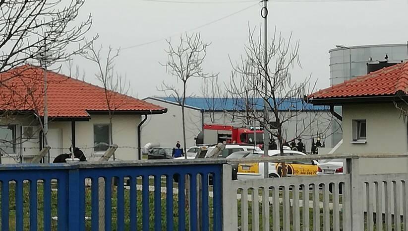 Uviđaj nakon eksplozije u Fabrici vode u Zrenjaninu Foto: BETAPHOTO/LJILJANA STUPAR