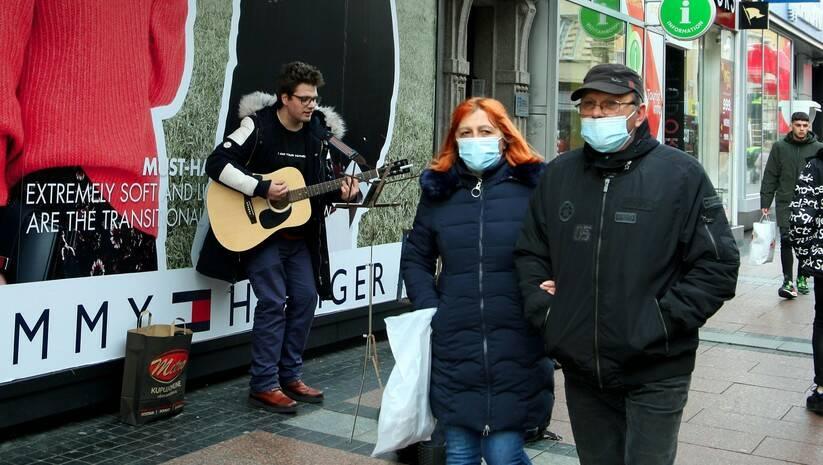 NIš u vreme epidemije koronavirusa, decembar 2020. Foto: Saša Đorđević/Betaphoto