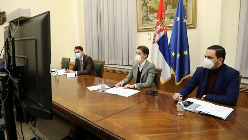 Ana Brnabić na plenarnoj sednici Nacionalnog konventa o EU, Foto: Vlada Srbije