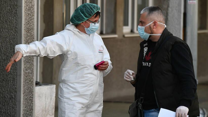 Koronavirus, Infektivna klinika Foto: Srđan Ilić