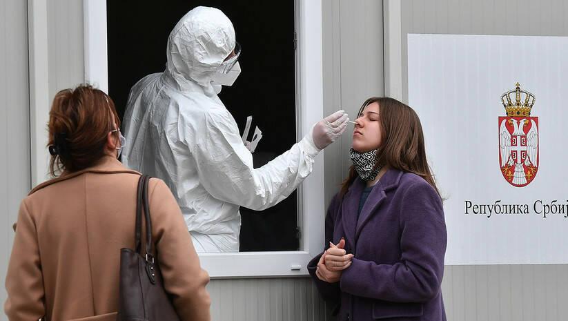 Teestiranje na koronavirus na Torlaku Foto: Srđan Ilić