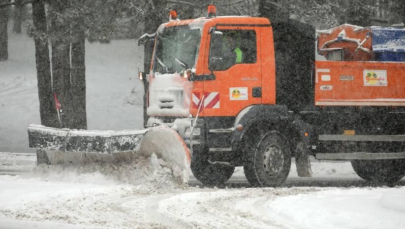 Prvi sneg ove zime na Zlatiboru, 26.decembar 2020, Foto: Betaphoto/Dragan Karadarević
