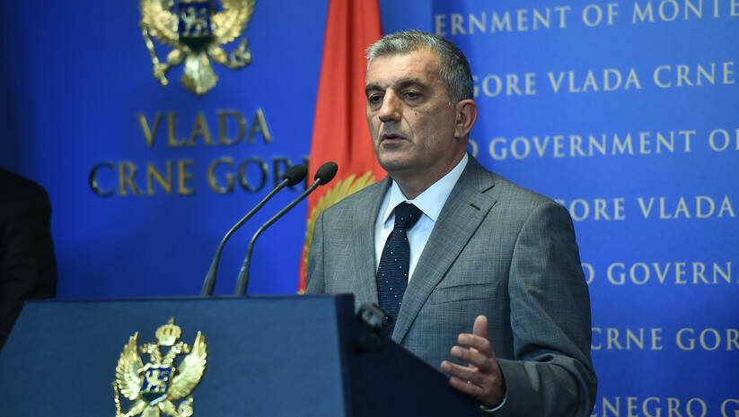 Ministar za kapitalne investicije CG Mladen Bojanić / Foto: Vlada CG/Bojana Čupić