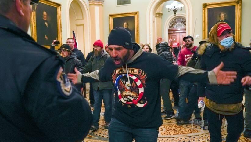 Trampove pristalice u Kongresu Foto: Betaphoto/AP Photo/Manuel Balce Ceneta