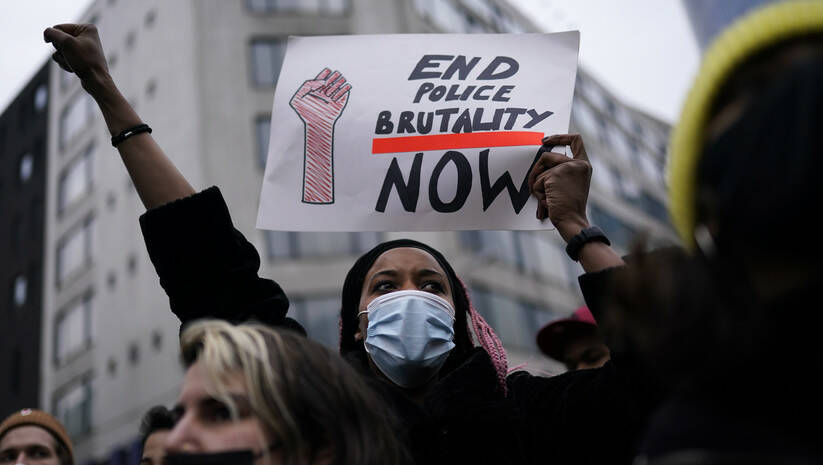 Protest u Briselu povodom smrti mladića afričkog porekla / Foto: AP Photo/Francisco Seco