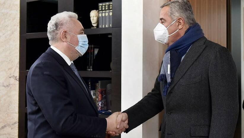 Zdravko Krivokapić i Milo Đukanović, Foto: Vlada Crne Gore