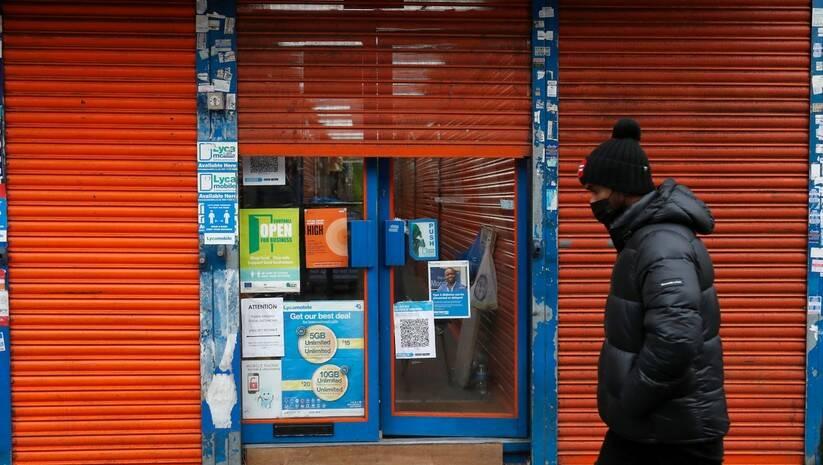 Prodavnica u Londonu delimično otvorena zbog rada po principu