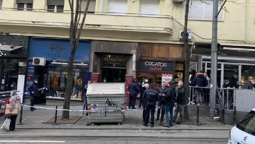 N1: Mesto pucnjave u Resavskoj ulici