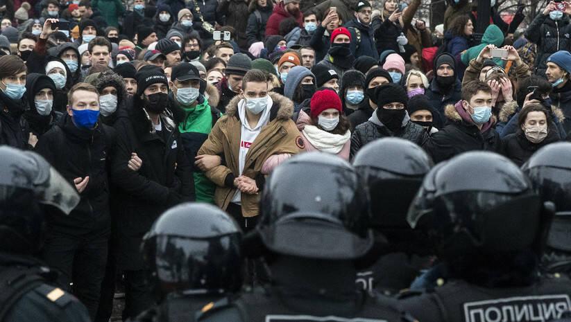 Pavel Golovkin: Protest protiv zatvaranja lidera opozicije Alekseja Navaljnog u Rusiji