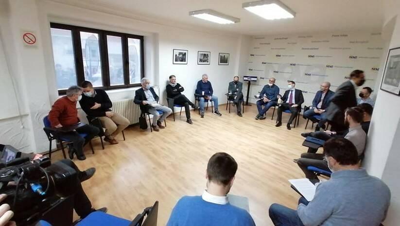 Foto: Nova stranka: Sastanak dela opozicije o izbornim uslovima