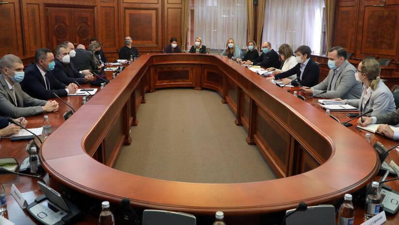 Sastanak Radne grupe za bezbednost novinara / Foto: Vlada Srbije/Slobodan Miljević