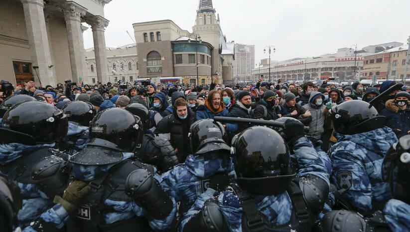 Beta: Protesti u Rusiji