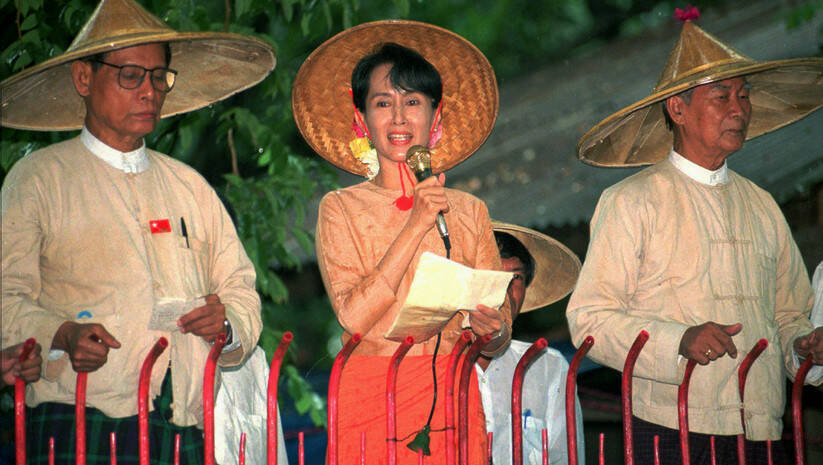 Aung San Su Ći, arhivska fotografija Foto: AP Photo/Stuart Isett/Betaphoto