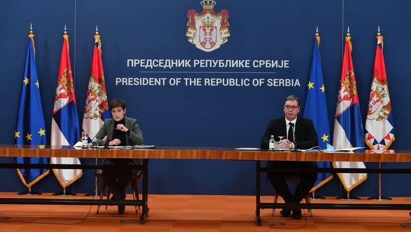 Ana Brnabić i Aleksandar Vučić Foto: Srđan Ilić
