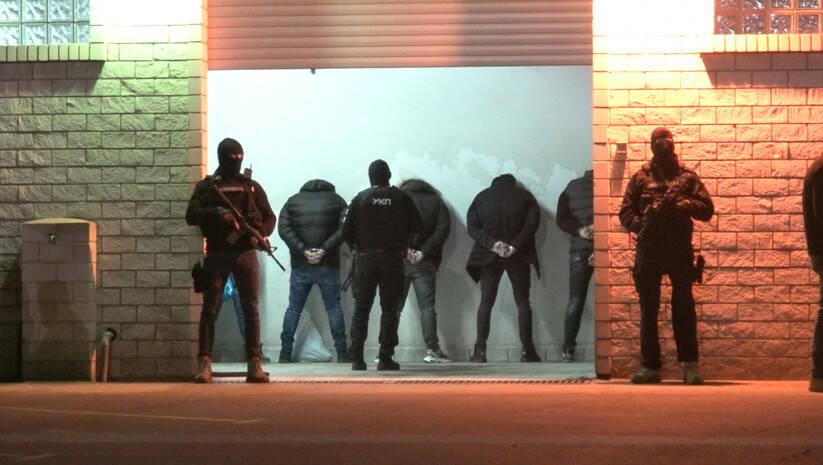 Hapšenje pripadnika organizovane kriminalne grupe Velljka Belivuka Foto: MUP