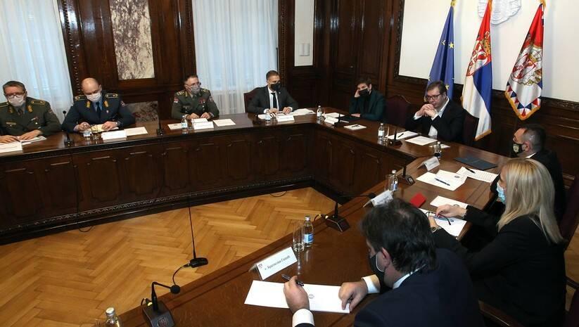 Sednica Saveta za nacionalnu bezbednost 8.02.2021 Foto: BETAPHOTO/MILAN OBRADOVIC
