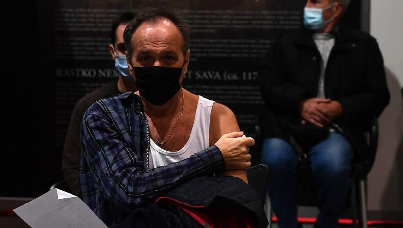 Vakcinacija protiv koronavirua u Belekspocentru u Beogradu Foto: Srđan Ilić