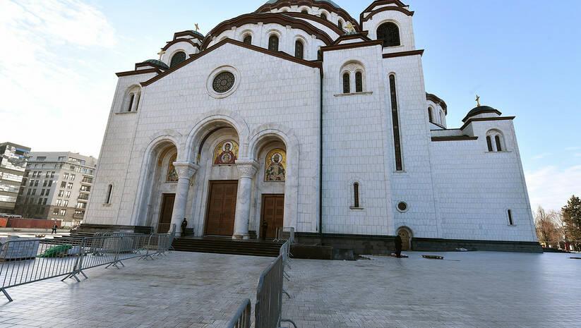 Hram Svetog Save Foto: Srđan Ilić