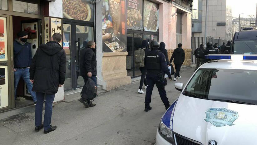 Hapšenje iregularnih migranata / Foto: MUP