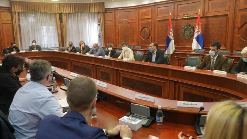 Radna grupa za bezbednost i zastitu novinara, 26. februar 2021, Foto: Vlada Srbije