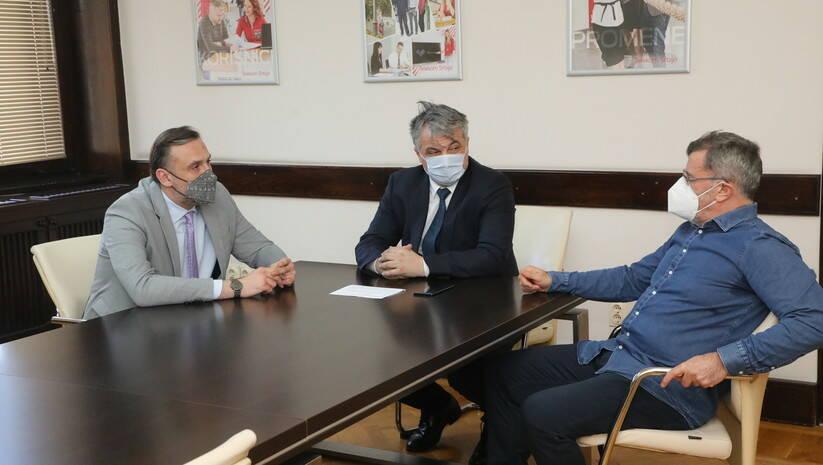 Početak rada SOS linije za novinare Foto: Vlada Srbije