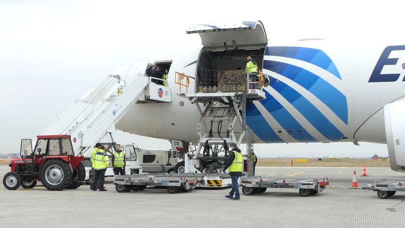 Oprema donirana iz Ujedinjenih Arapskih Emirata