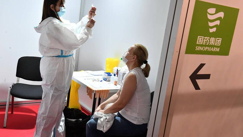Vakcinacija Sinofarm, Beogradski sajam / Foto: Srđan Ilić