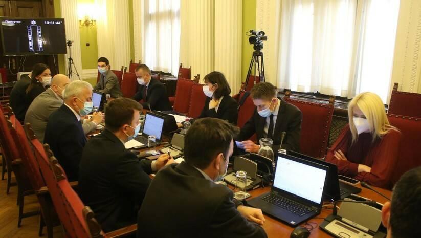 Administrativni odbor Skupštine Srbije Foto: Fonet